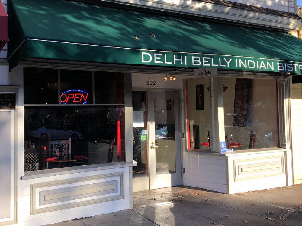 Delhi Belly Indian Bistro - Sonoma Plaza