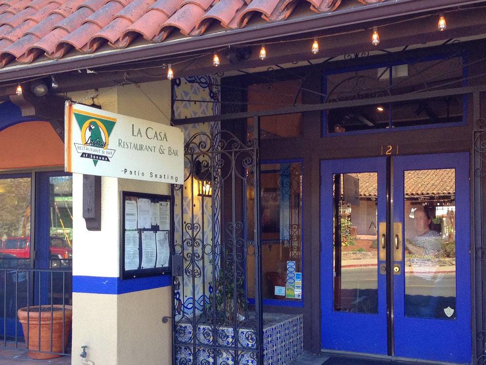 La Casa Restaurant & Bar - Sonoma Plaza