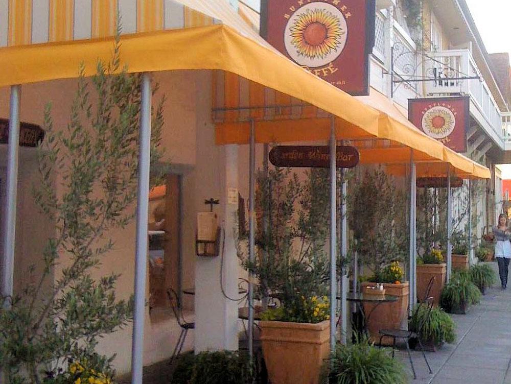 Sunflower Caffe - Sonoma Plaza