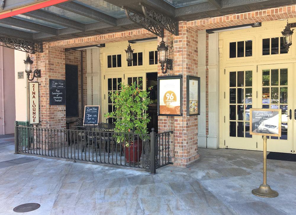 Zina Hyde Cunningham Winery - Sonoma Plaza